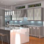 Design Build Santa Monica Kitchen Render