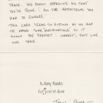 Burbank Residence Design and Remodel Thank You Card