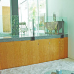 Sassoon Residence Beverly Hills Zen Room Media Cabinets