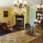 White Oaks Residence Kitchen Island 2